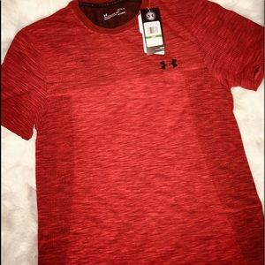 Under Armour Shirts - Under Armour Rust Orange Mica short sleeves sz LG